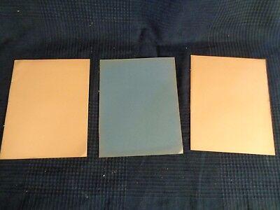 12x Cuaderno Notebook VINTAGE Tapa Papel Kraft Marron Estilografica Roller 4419b