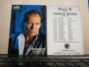 NO-CD-LP-VASCO-ROSSI-CARTOLINA-NUOVA-cm-10-x-cm-15-pubblicita-039-tour-1987