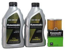 1991 Kawsaki EL250-E1 (Eliminator 250)  Full Synthetic Oil Change Kit
