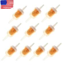 10pcs 1//4/'/' Fuel Filter For Briggs /& Stratton 691035 695666 Kawasaki 49019-7001