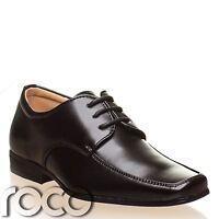 Boys Black Shoes, Boys Formal Shoes, Boys Wedding Shoes, Page Boy Shoes