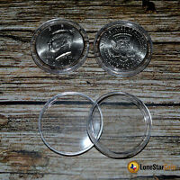 25 Direct Fit Coin Capsules For Half Dollars 30.6mm Coin