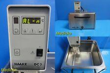Haake Dc3 002 4177 Immersion Circulator With Haake W15 Bath Tub Amp Lid 21601