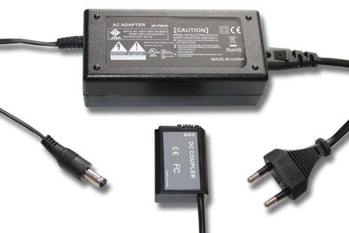 A7R II ORIGINAL VHBW NETZTEIL mit KUPPLER für Sony Alpha 7R II ILCE-7RM2