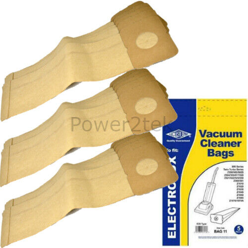 15 x E28 Vacuum Bags for Electrolux Z502 Z502S Z504 Hoover UK