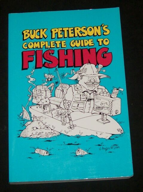 Buck Peterson Guide to Fishing Hook Grouper Halibut Salmon BASS Trout Sturgeon
