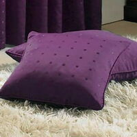 """Madison 18"""" Piped Cushion Cover Purple BNWT"""