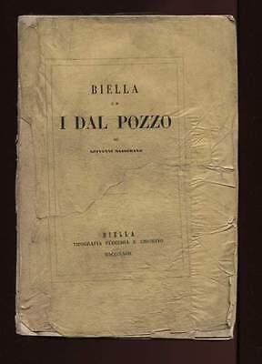 BIELLA ED I DAL POZZO Giovanni Masserano Tip Flecchi e Chiorino 1867