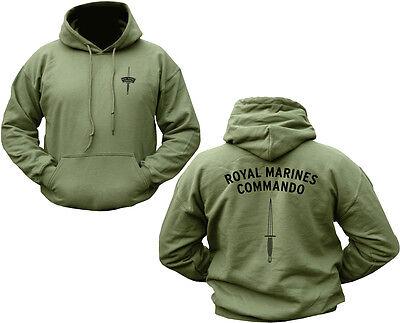 MILITARY ROYAL MARINE COMMANDO HOODIE BRITISH ARMY ENGLISH HOODY DAGGER JUMPER