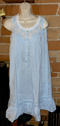 Eileen West Small Short Cotton Lawn Nightgown  Lac
