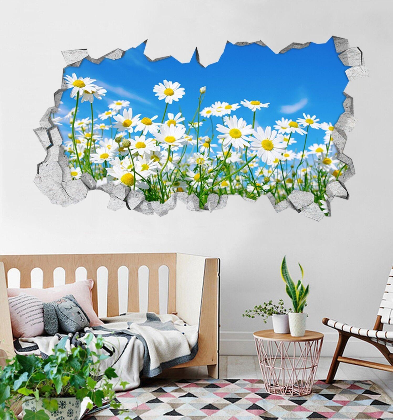 3D Üppige Blaumen 07 Mauer Murals Mauer Aufklebe Decal Durchbruch AJ WALLPAPER DE