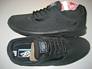 Vans Mens Iso 1.5 Mono Black Running Skate Athletic Shoes Size 11 ... 968fe205b