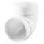 4-034-100mm-PLASTIC-ROUND-DUCTING-FITTINGS-Ventilation-Tube-EXTRACTOR-FAN-Vent-Pipe thumbnail 13