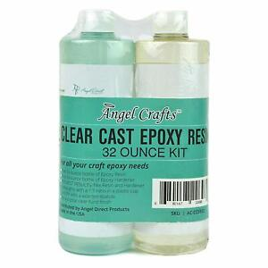 Details about Clear Casting EPOXY Resin & Hardener (32oz) Mix Kit