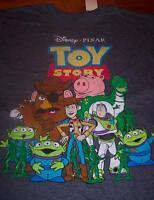 Vintage Style Walt Disney Toy Story T-shirt Small W/ Tag Woody Buzz Rex