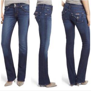 Beth scuro Jeans elasticizzate 28 taglia scamosciata lavato comfort Hudson Tasche Fz7nq