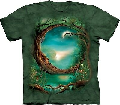 Abile Albero Luna Fantasy T Shirt Per Adulti Unisex The Mountain-mostra Il Titolo Originale Prezzo Più Conveniente Dal Nostro Sito