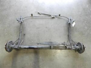 00 06 Nissan Sentra 1 8l Oem Rear Suspension Loaded Axle Beam