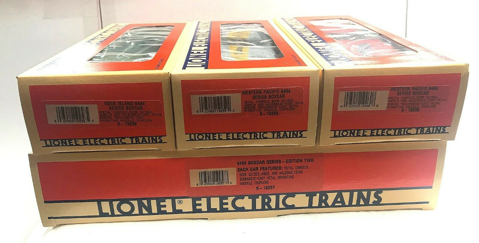 Lionel boxcar series edition two  w orig. boxed C10 109115