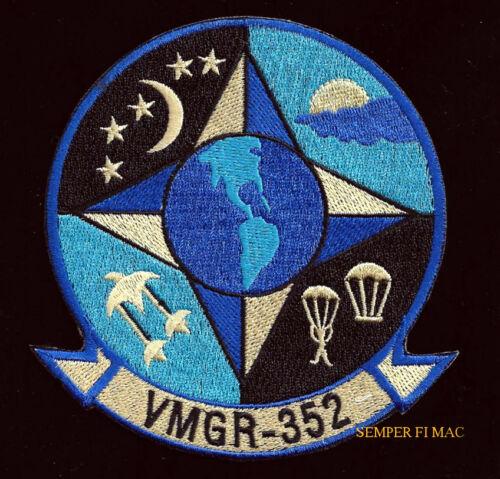 VMGR-352 RAIDERS HAT PATCH US MARINES C130 PILOT CREW VETERAN GIFT MAW MAG WOW