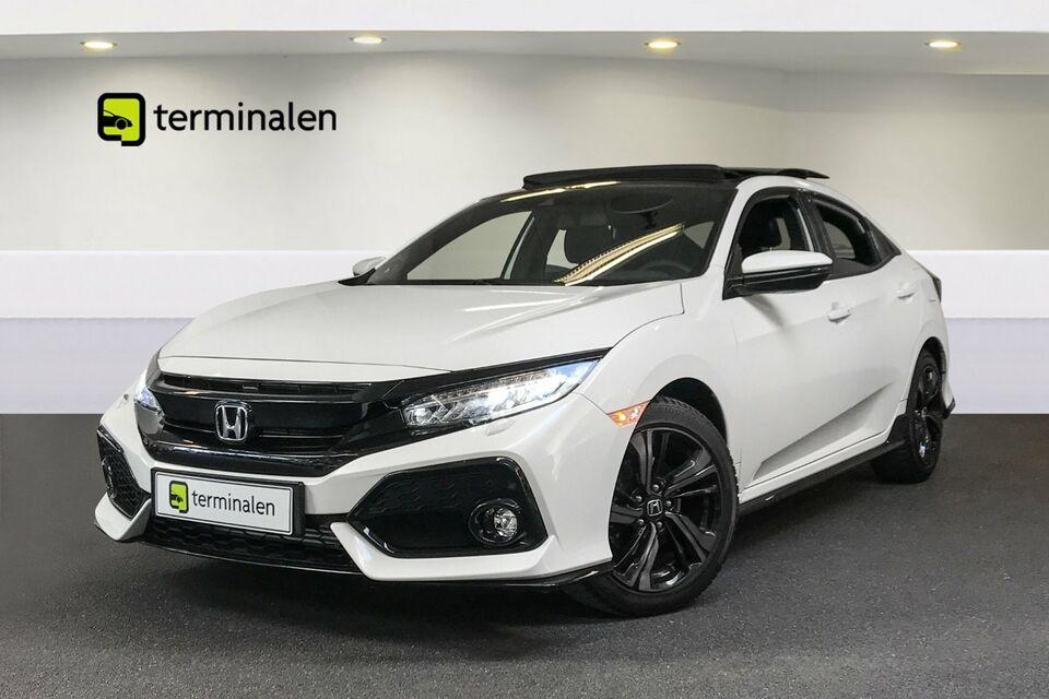 Honda Civic 1,5 VTEC Turbo Sport+ Benzin modelår 2018 km