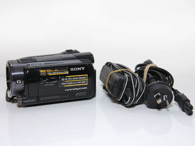 Sony Handycam HDR-XR500V120GB HD Handycam Camera Camcorder Recorder+Accessories!
