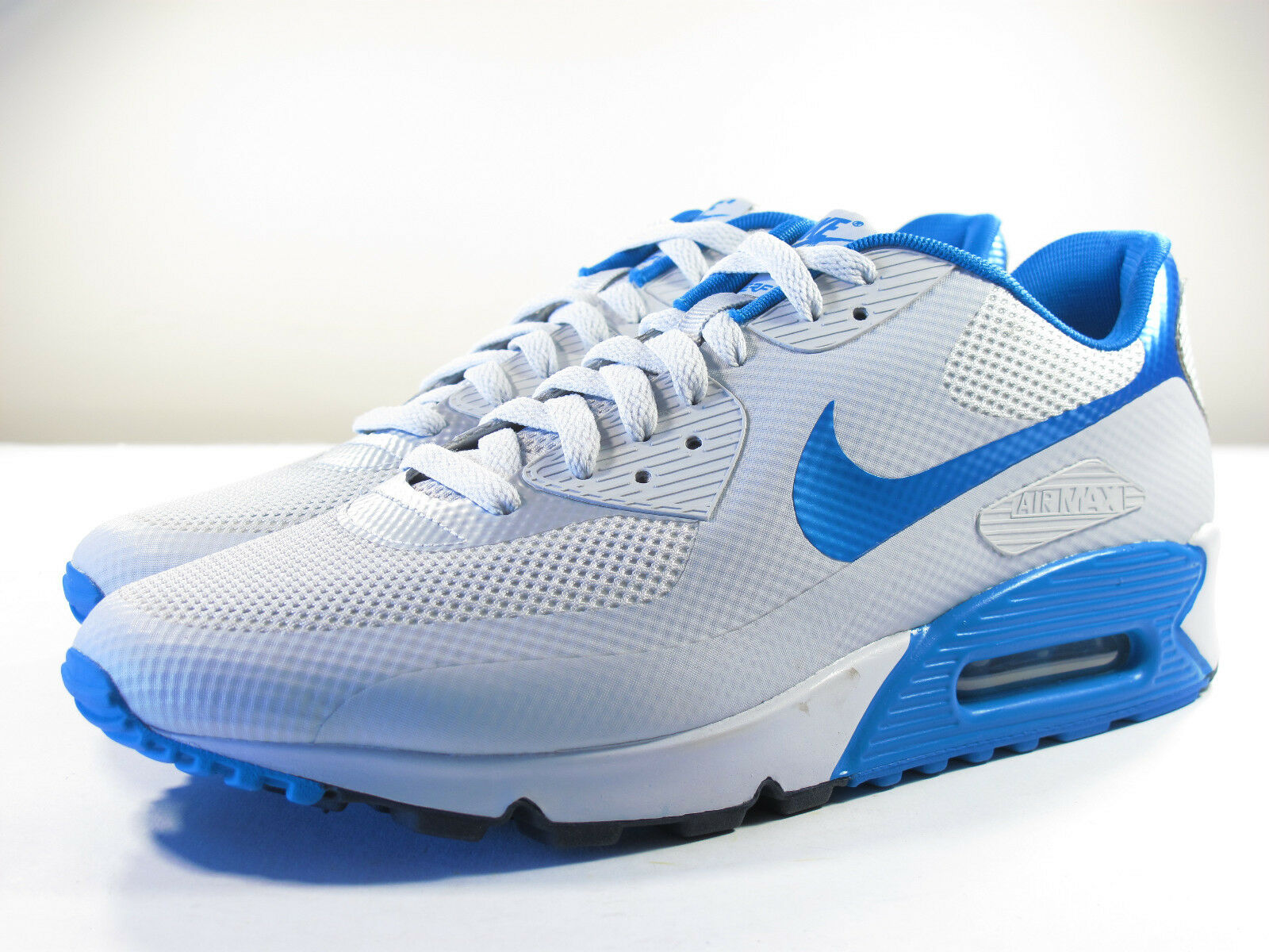 DS NIKE 2011 SAMPLE AIR MAX 90 HYPERFUSE 9 PURE PLATINUM DYNAMIC BLUE 9 HYPERFUSE MOON 1 95 07a9d1