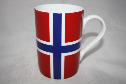 Norwegen Kaffee Becher Könitz Porzellan NORWAY  NORGE 300ml Tasse