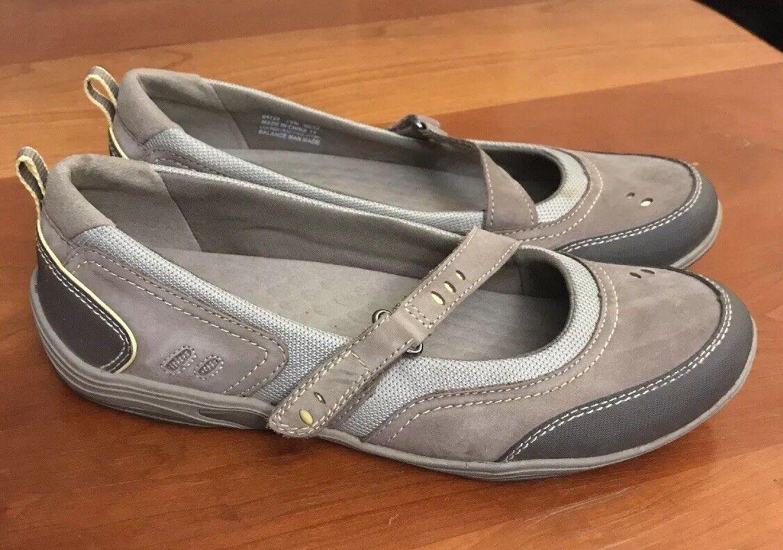 privo mary clark Marron  mary privo janes mocassins en cuir chaussures un confortable de 10 m 2cf4f2