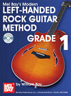 Modern Left-Handed Rock Guitar Method Grade 1 ~Book/CD