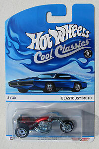 HOT WHEELS COOL CLASSICS A CASE BLASTOUS MOTO #2//30