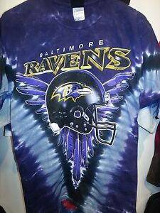 3bf7ed5f397b Image is loading BALTIMORE-RAVENS-NEW-Tie-Dye-V-Dye-T-