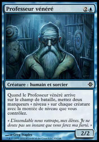 ▼▲▼ 4x  Professeur vénéré Venerated Teacher ELDRAZI #093 FRENCH MTG
