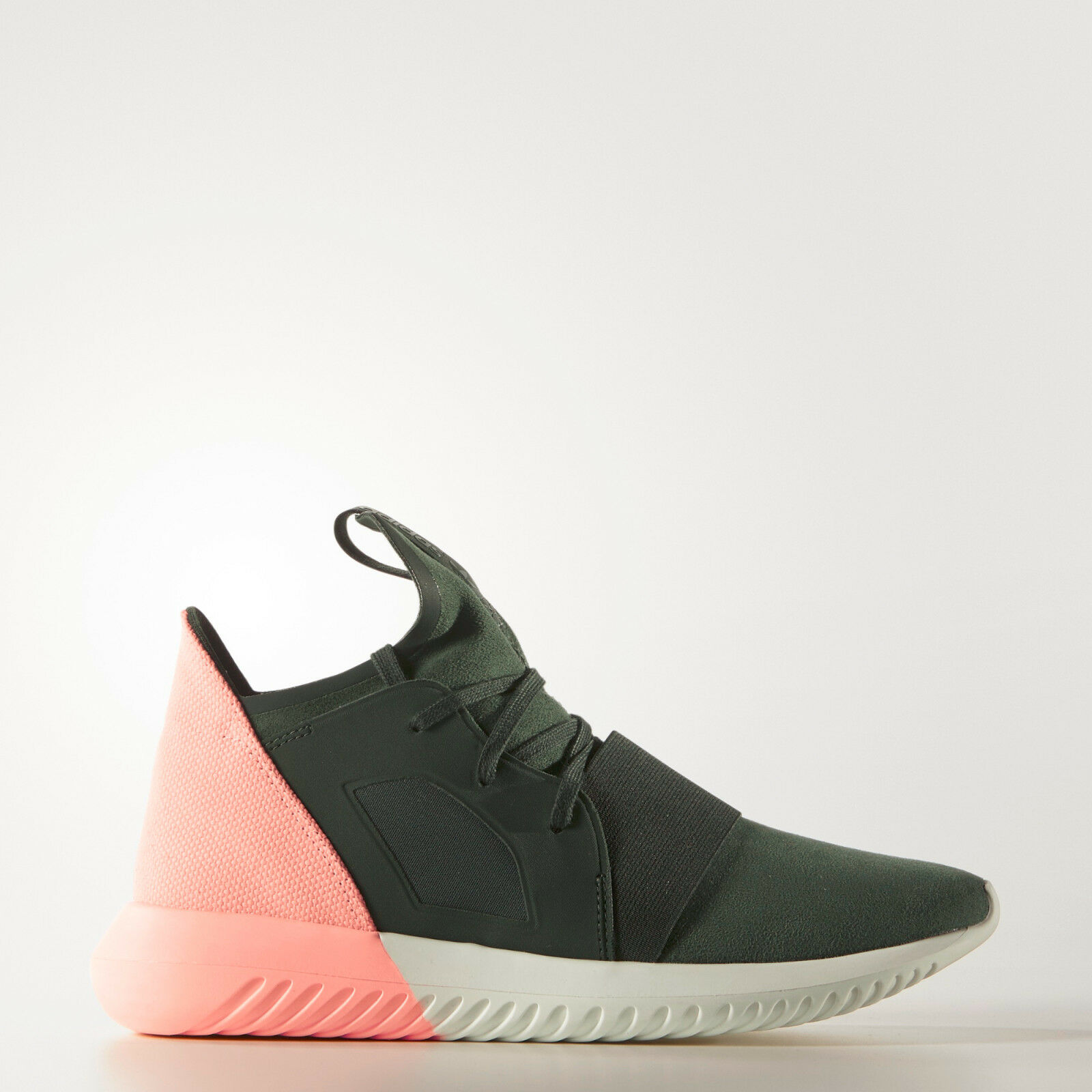 Adidas Tubular Defiant W Sizes 4 to 10 Shadow Green Coral Pink S75248