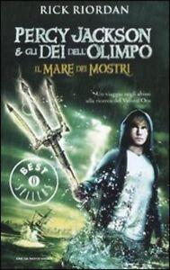 Percy Jackson e gli dei dell'Olimpo Mare dei mostri.