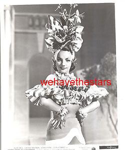 8X10 PUBLICITY PHOTO CARMEN MIRANDA ACTRESS DANCER AND SINGER AZ228