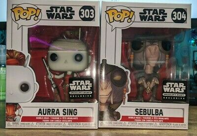 Sebulba Shirt Size M L XL S Funko POP Star Wars Smugglers Bounty Box Aura Sing