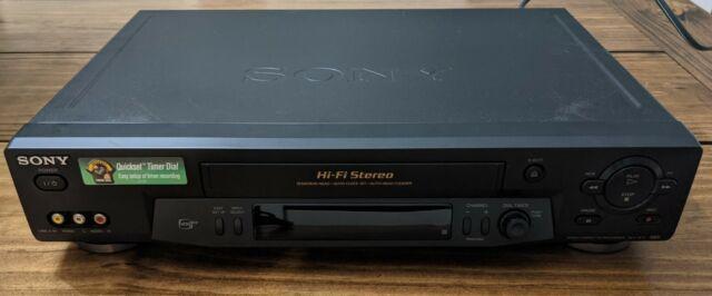 Sony slv-n71 Video Cassette Recorder Hifi Stereo VHS VCR 19 Micron Head