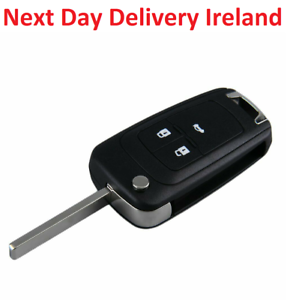 Uncut-Replacement-Blank-Car-Fob-Key-Vauxhall-Opel-Corsa-Astra-Vectra-Insignia