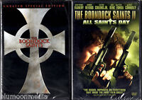 The Boondock Saints 1 & 2 Dvd Lot Unrated Special Edition & All Saints Day