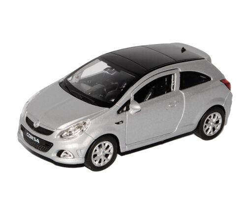 Opel CoRSa D Silber 3 TÜrer Ca 1//43 1//36-1//46 Welly Modellauto Modell Auto