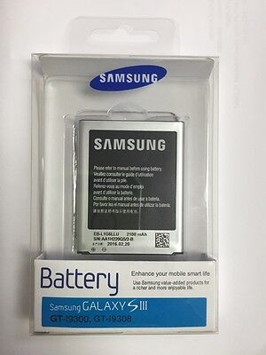 New Genuine Full capacity battery for Samsung Galaxy S3 EB-L1G6LLU 2100mAh 3.8V