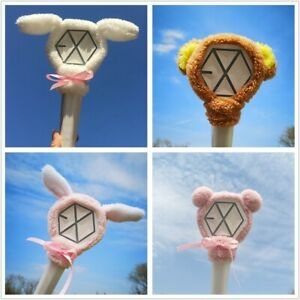 Kpop Exo Cute Cartoon Lightstick Headband Beakhyun Chanyeol Plush Head Cover At Any Cost Novelty & Special Use Costume Props