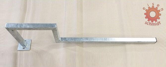 202708  Geländer Stützen  Palisaden  Messing  Höhe 21 mm