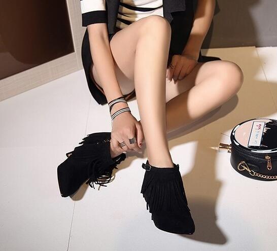stivali stivali stivali stivaletti stiletto    a 7 marrone nero comode simil pelle 8555 3da6d9