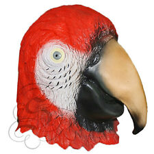 FANCY DRESS MASQUERADE ADULT PARROT BIRD STAG /& HEN PARTY MASK PRETTY POLLY