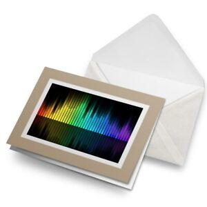 Greetings-Card-Biege-Music-Equalizer-DJ-Band-Teen-8878