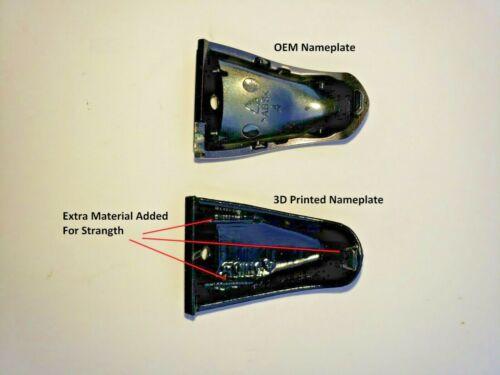 pair *New* Shimano ST-5600 Name Plate Cover STI 105 ST-5600//5601 BLACK