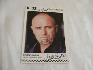 Details about BRUCE BYRON Signed THE BILL Cast Card Photo Autograph DC  Terry Perkins