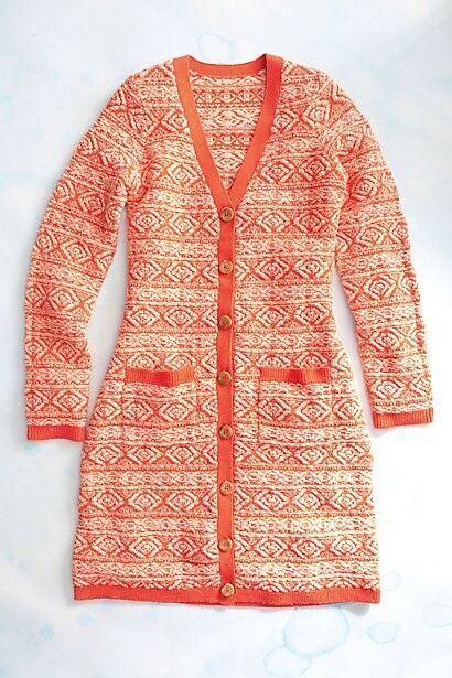 NWT Anthropologie Moth Dimensional Diamond Jacquard Wool Sweatercoat Size XS S M